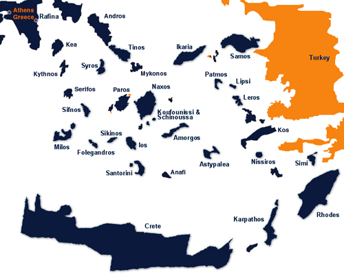 Removals to Greek Islands